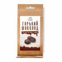 Горький шоколад 72% без сахара (в дропсах), 92г