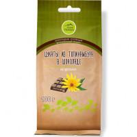 Цукаты из топинамбура в горьком шоколаде, 100г